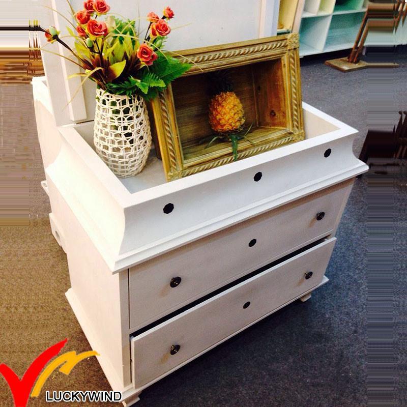 Fuzhou Wholesale Vintage Antique Home Furniture Used Wooden Storage Cabinet