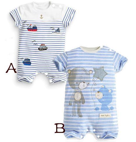 Baby Rompers in Bay Clothes