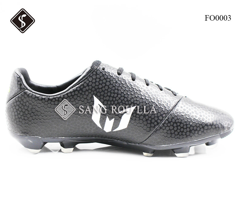 TPU with Microfiber, Outdoor Soccer Shoes for Men Footwear