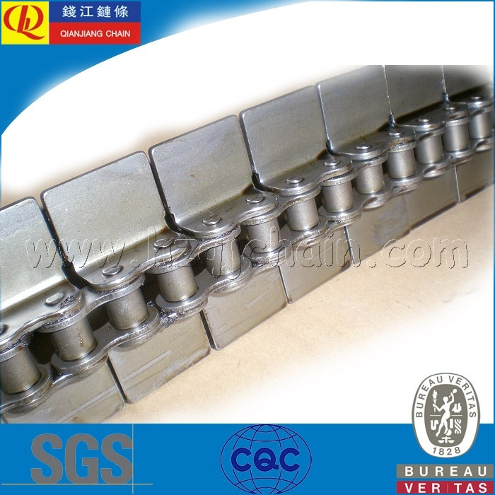 Short Pitch Transmission Roller Chain with Attachments