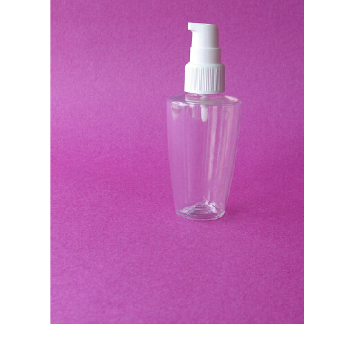 150ml Plastic Cosmetic Boston Pet Bottle Container with Pump