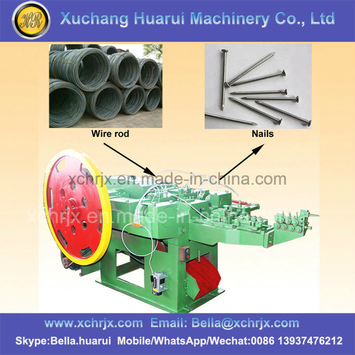 Steel/Iron/Copper/Concrete/Common Nails Making Machine/Nail Production Line