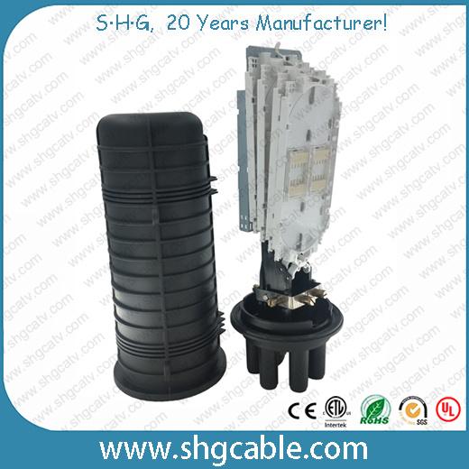 Heat-Shrink Dome Fiber Optic Cable Splice Closure (FOSC400)
