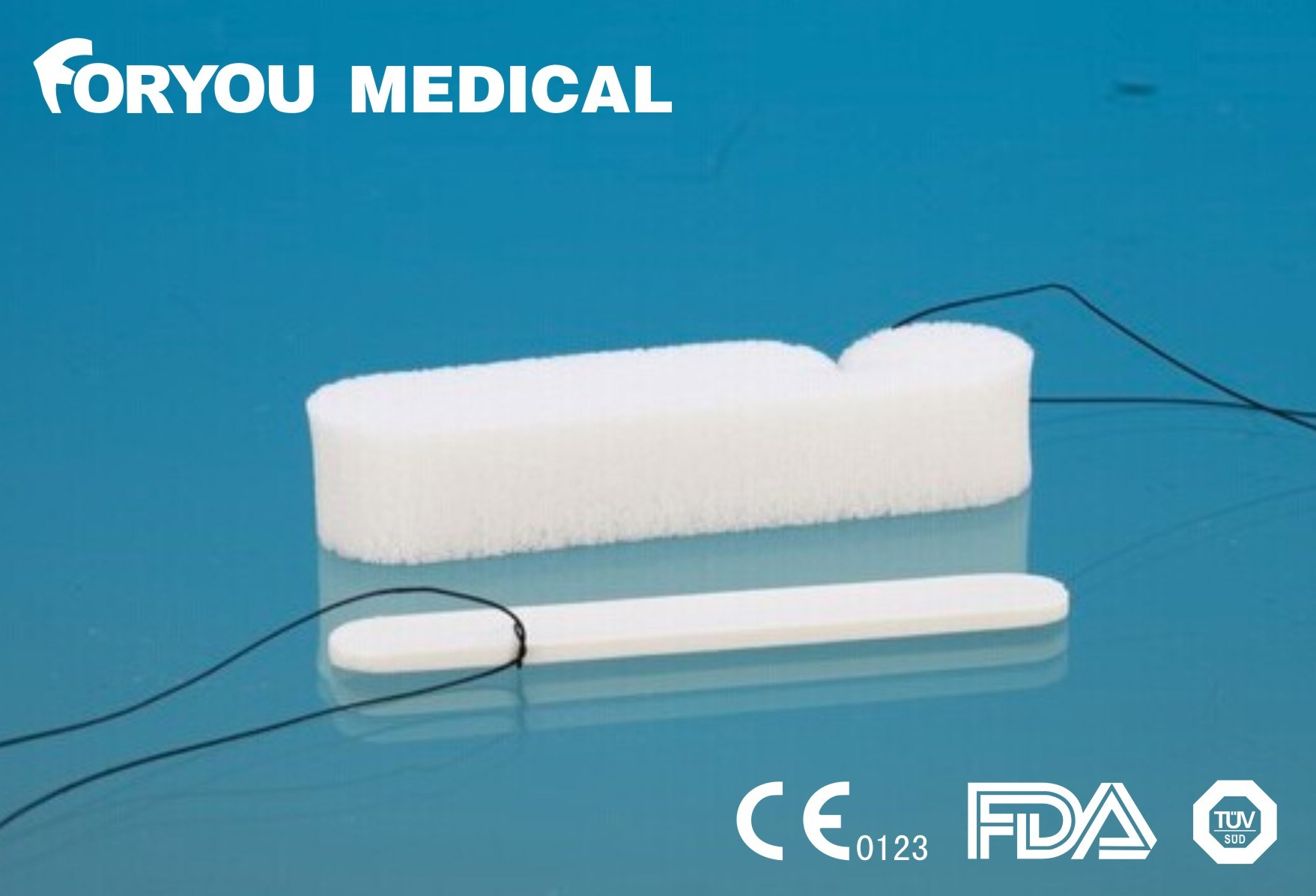 Hemostatic Nasal Dressing Ce FDA Approved Nasal Packing Tampon Dressing Medical PVA Sponge