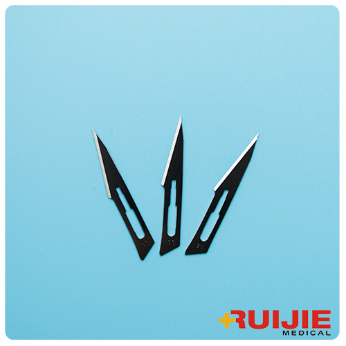 Sterile Surgical Blades with Carbon Steel