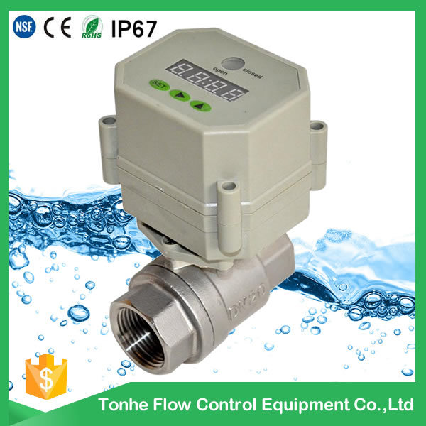 2 Way Motorized Control Drain Water Valve