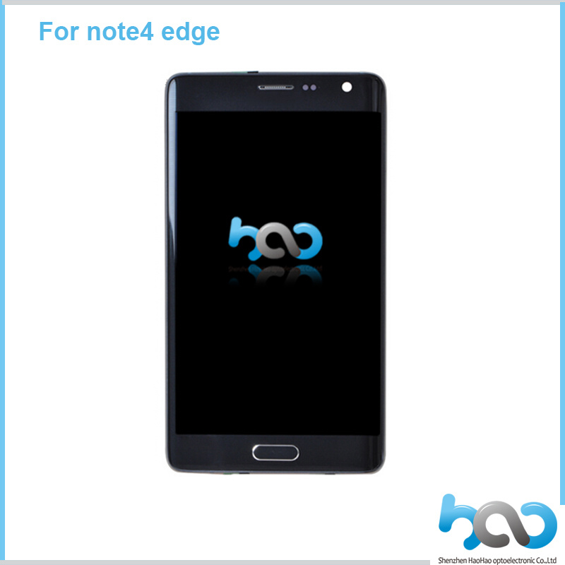 Mobile Phone Spare Part Touch LCD Screen with Digitizer for Samsung Galaxy Note Edge N9150