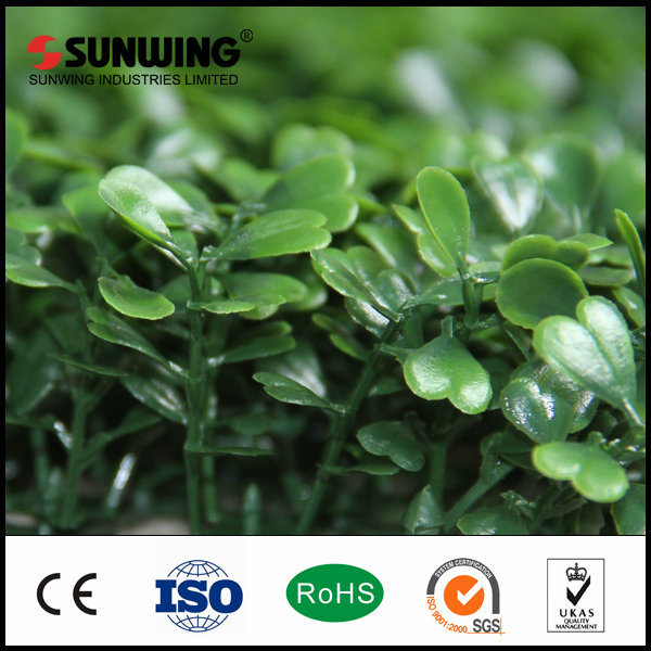 Decor Artificial Big Green Leaves Garden Fence IVY Mat