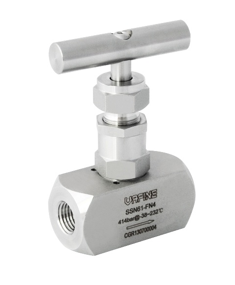 Stainless Steel 6000 Psig Bar Stock Body Needle Valves