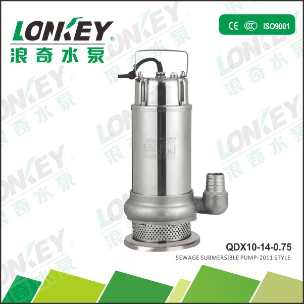 Stainless Steel Sewage Submersible Pump