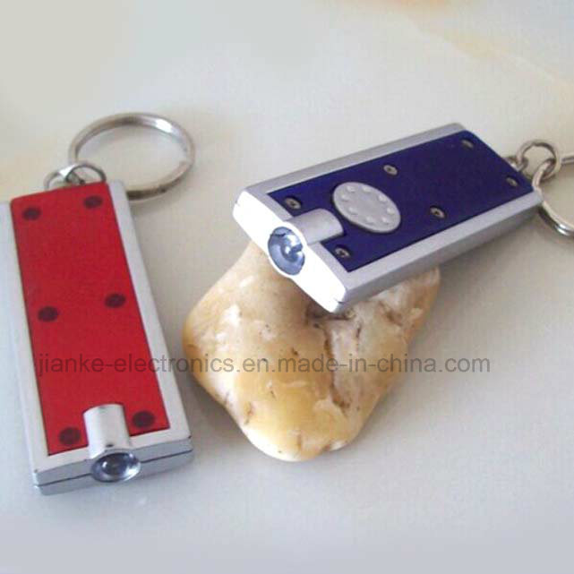 Promotional LED Light Keychain with Logo Printed (3032)