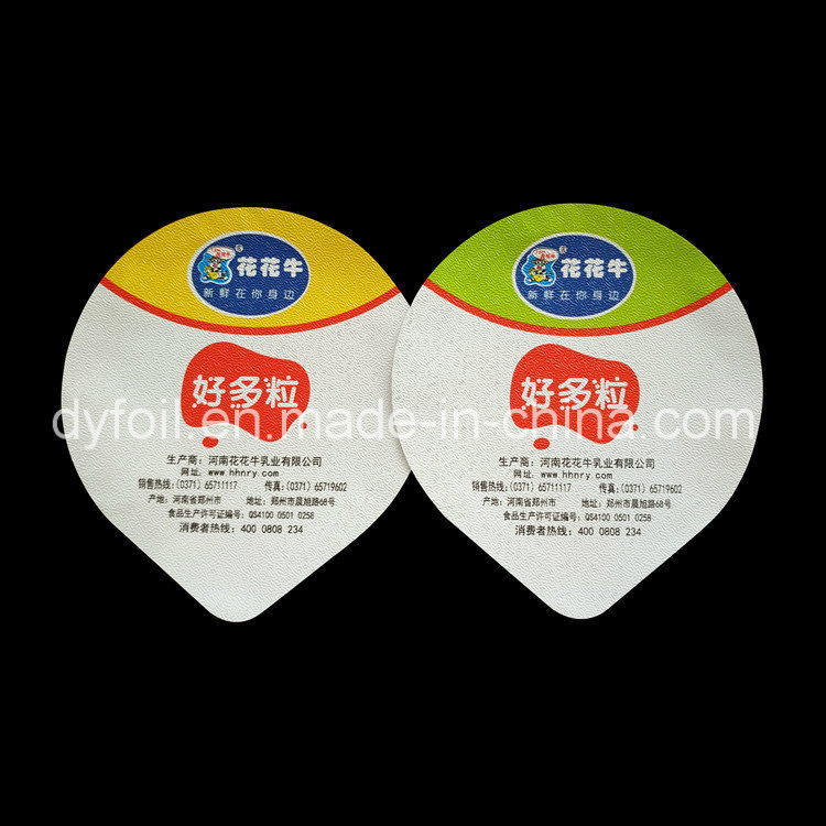 PP Film Laminated Aluminium Foil Seal for Yogurt Cup