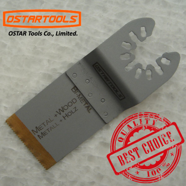 Quick Fitting Oscillating Saw Blade