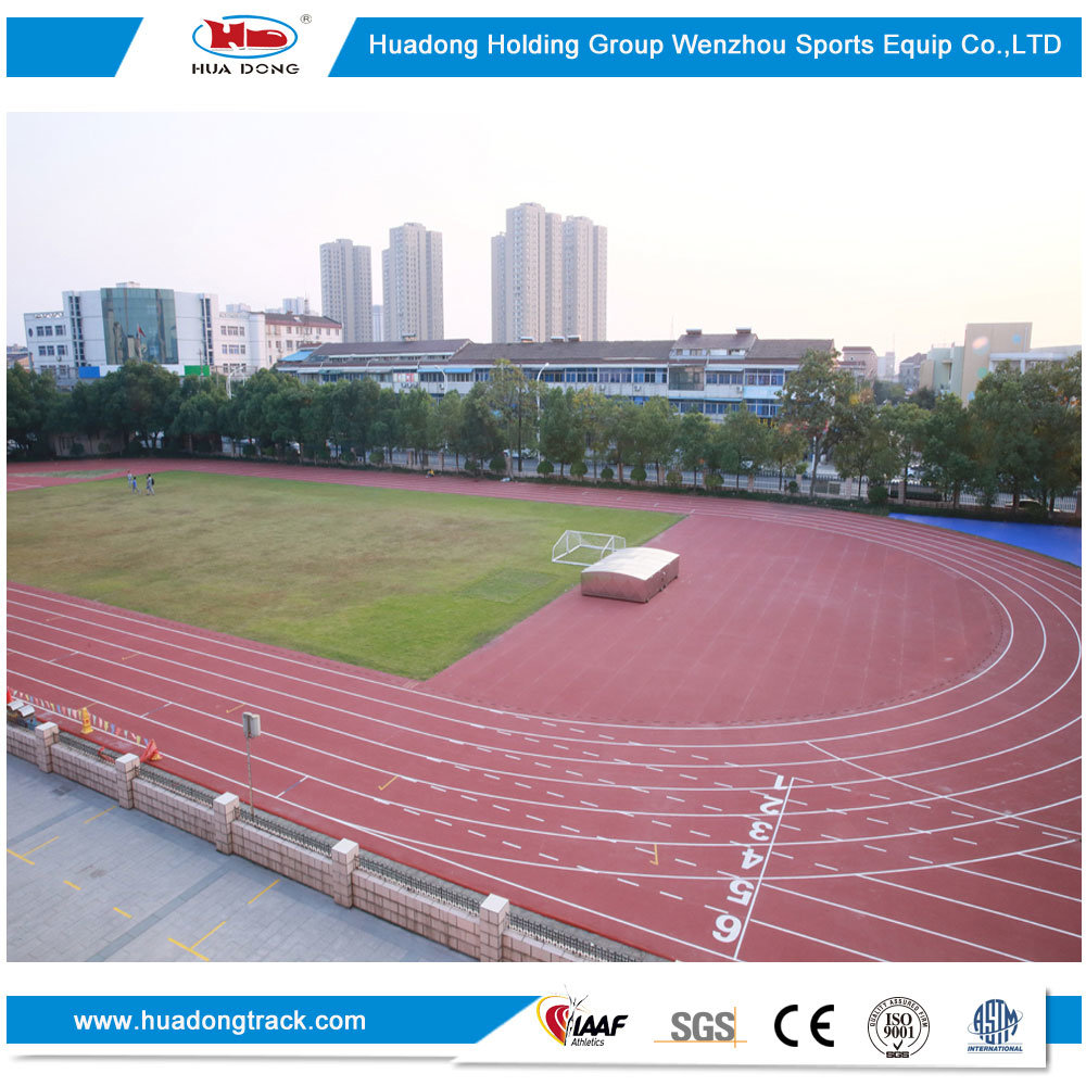 Stadium Surface Sports Rubber Running Track Material