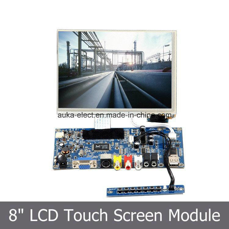 "8"" LCD Monitor SKD Module with LED Backlight/HDMI/VGA/AV Input"