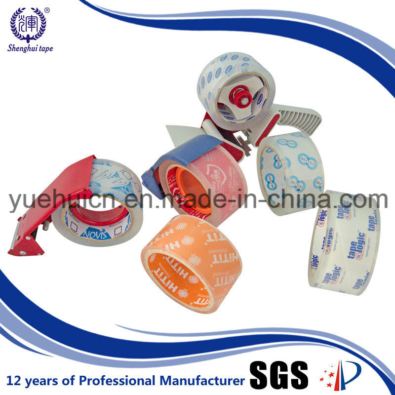 with Handle Dispenser BOPP Crystal Clear Packing Tape
