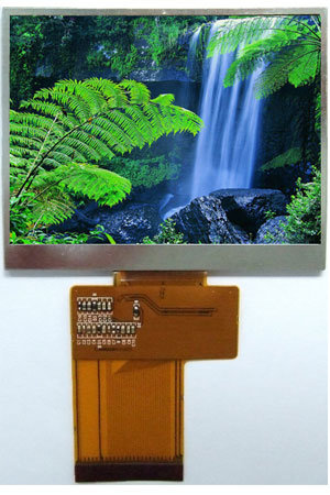 """Indurtrial Use 3.5"""" Qvga TFT 320 X 240 Landscape with Resistive Touch Panel ATM0350d2-T"""