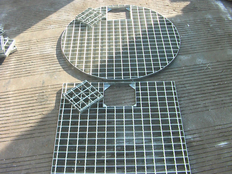 Hot DIP Galvanized Trench Cover From Steel Grating