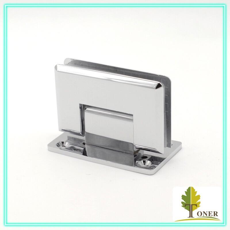 Square Bevel Edge 90 Degree Shower Door Hinge/ Zinc Hinge