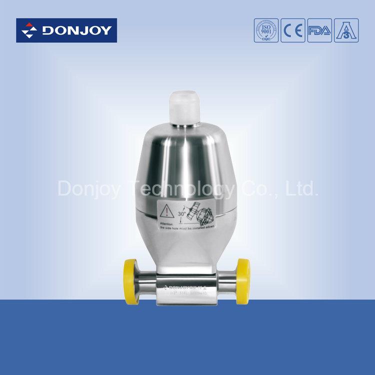 Mini Type Ss 316L Pneumatic Diaphragm Valve (Clamp Ends)