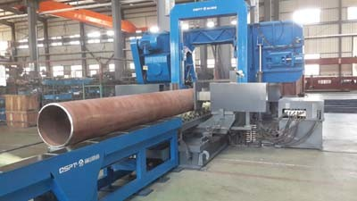 Automatic Band Saw Cutting Machine for Pipe Spool Fabrication