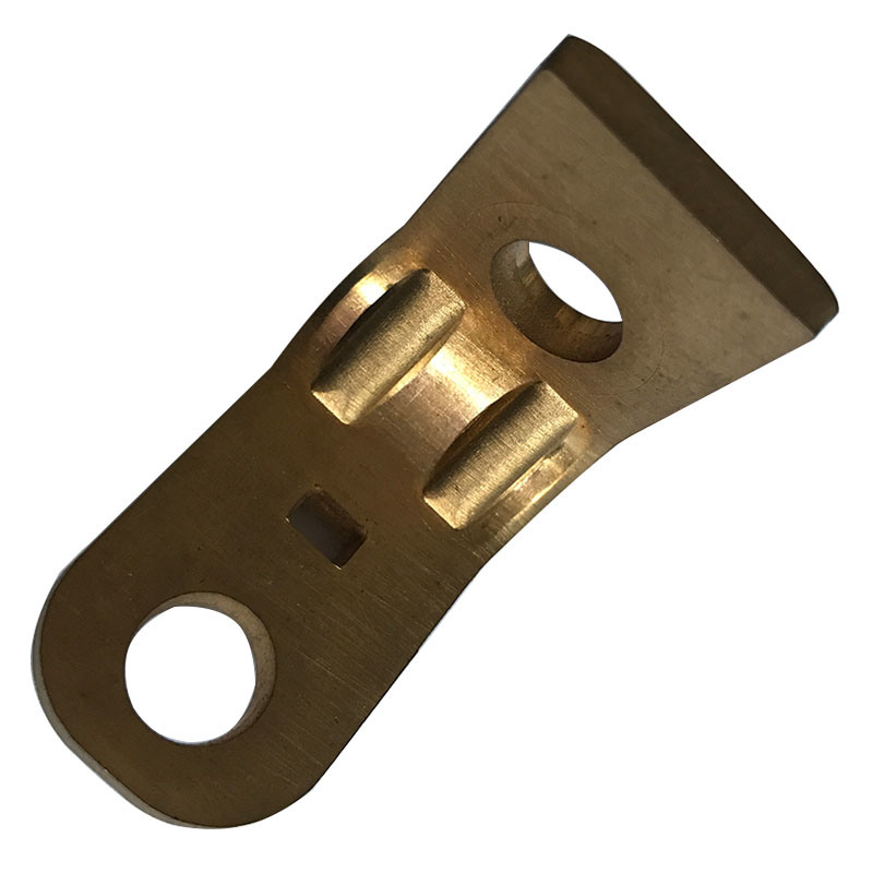 Precision Copper Stamping Part of Metal Bracket