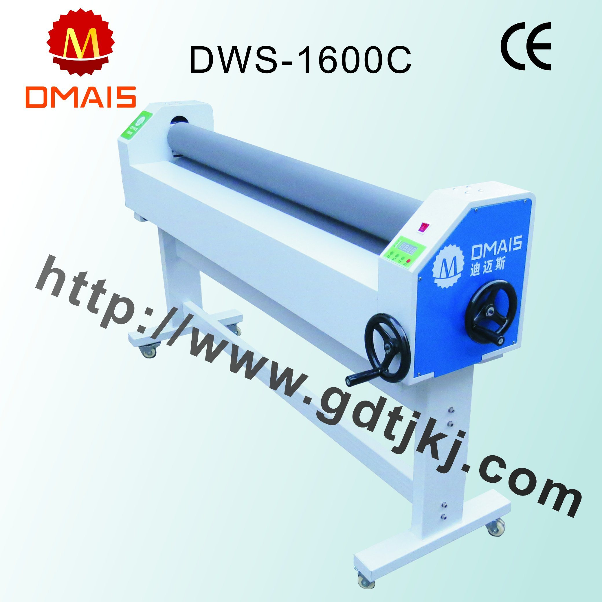 Hot Sale Cheap Cost 1600 mm Dws-1600c Manual Cold Laminator