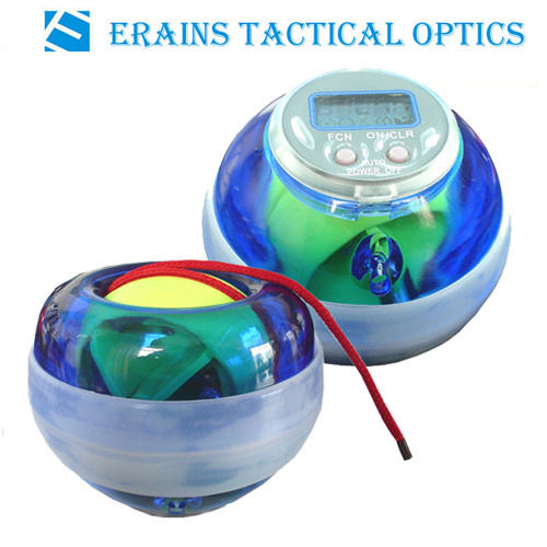 Power Ball/Wrist Ball With Speedometer and LED Light (WB386LC)