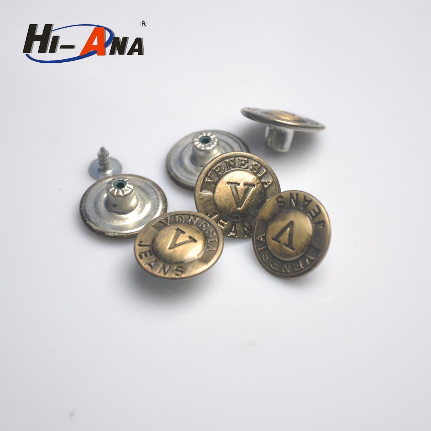 Quick Lead Times for Samples Various Colors Garment Shank Button
