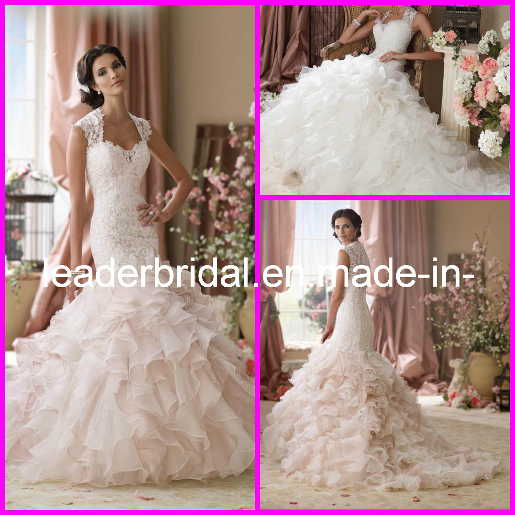 Alfa img Showing Pink Wedding Gowns With Sleeves