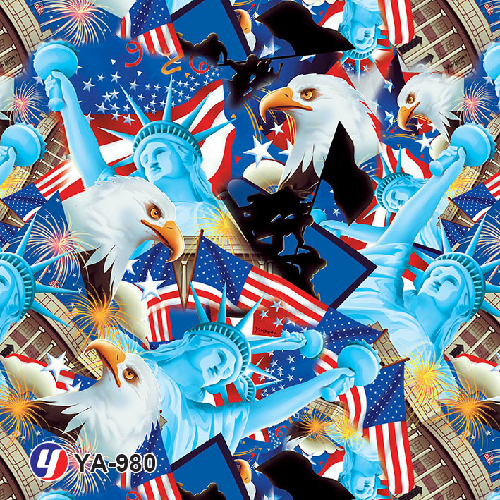 Yingcai British Flag Water Transfer Printing Hydro DIP Film
