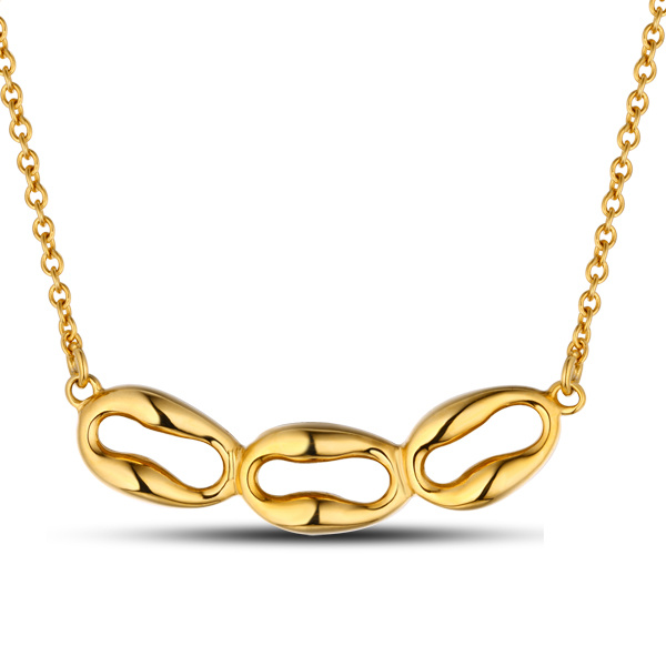 Fashion Handmade 18k Gold Pendant Jewelry Necklace