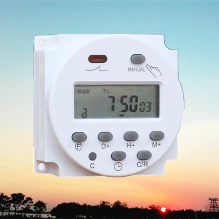 China Round Weekly Programmable Electronic Timer (CN101A)