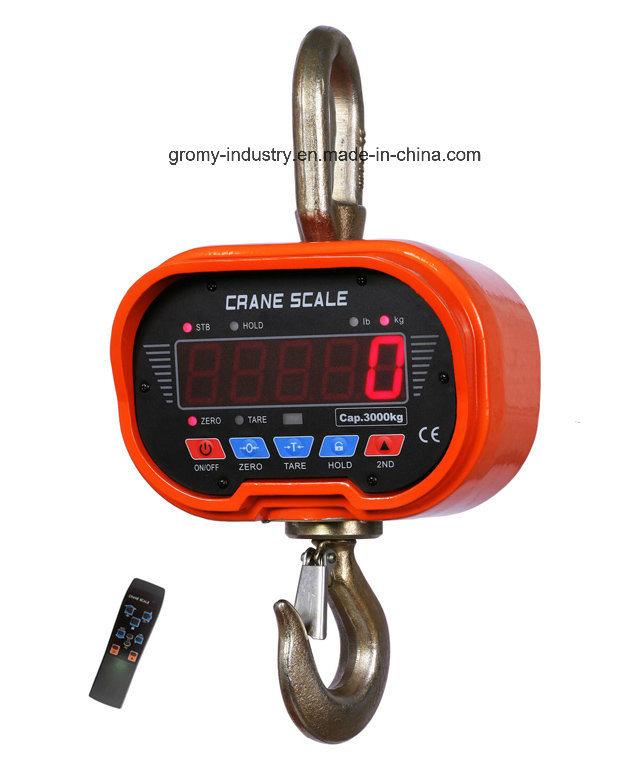 Electronic Digital Crane Scale Hanging Scale Ocs-C 5t
