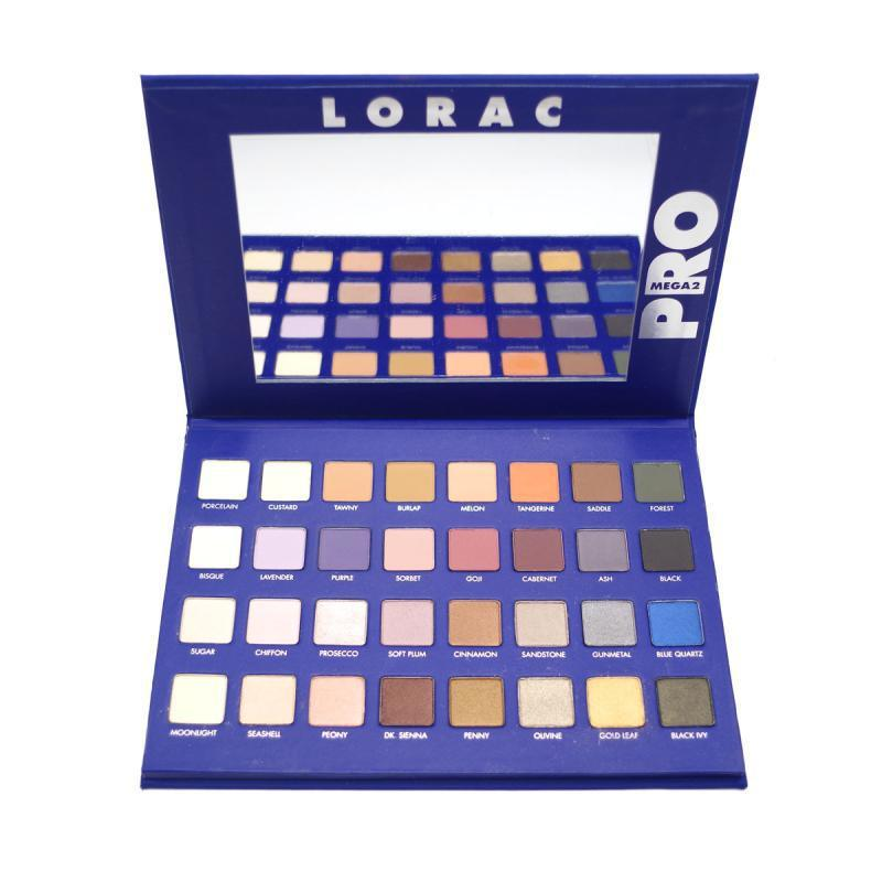 Lorac Mega PRO 3 Varied Matte Eyeshadow Palette 32 Color