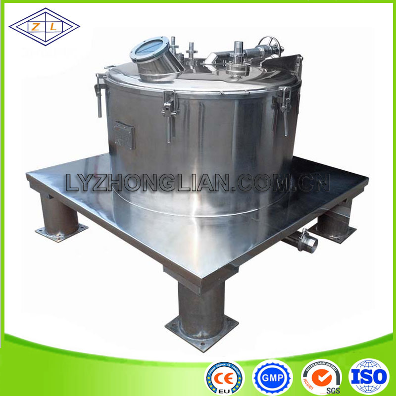 2500rpm Stainless Steel Flat Plate Sedimentation Centrifuge