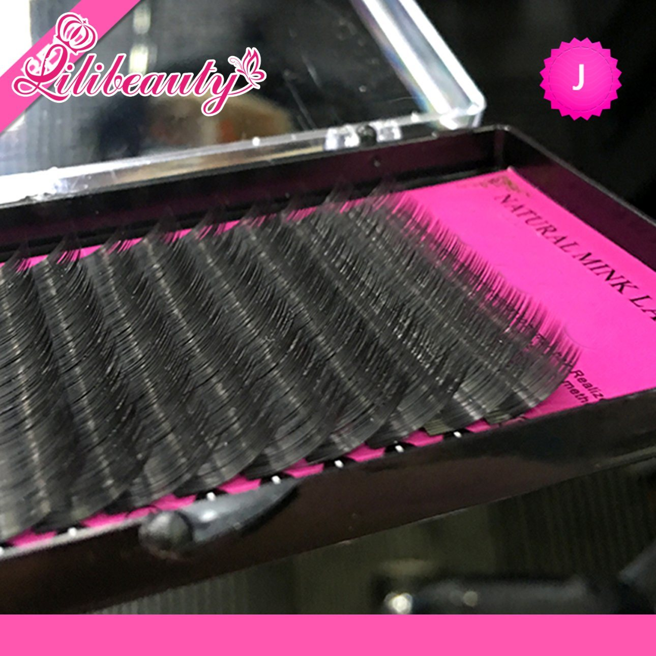 High Quality Mink Eyelash Extension, Individual Eyelashes, Natural Eyelashes, Fake False Eyelashes