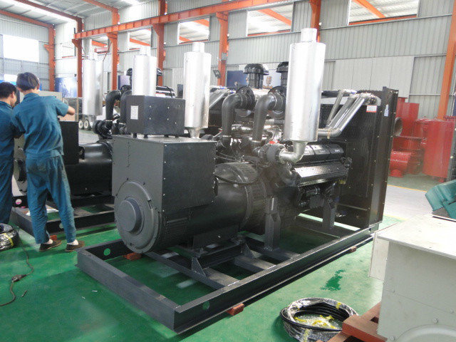 Electric Generator Set with Silent Diesel Engine