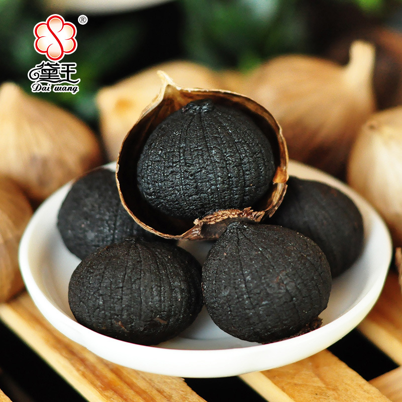 Natural Good Taste Fermented Peeled Single Black Garlic (1kg/bag)