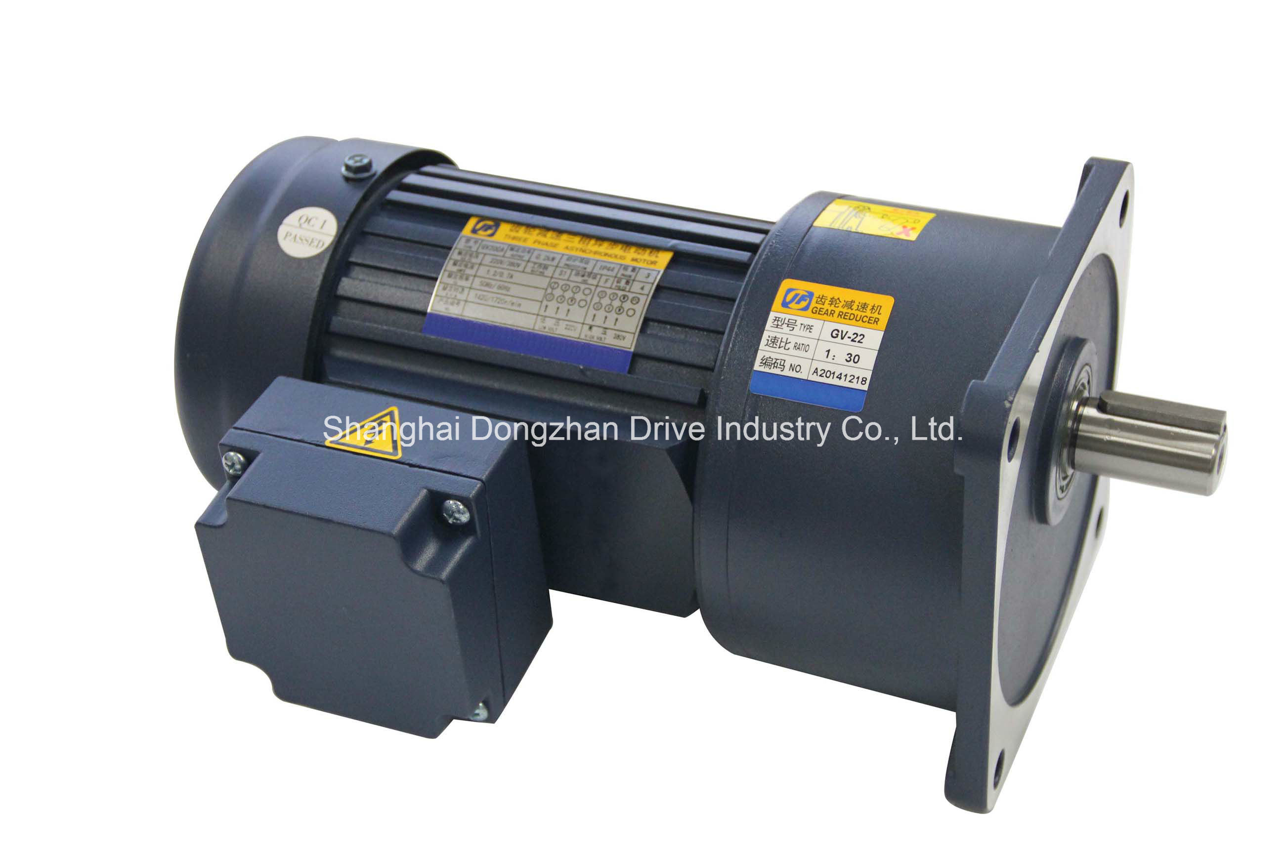 China Vertical Mounted Ac Gear Motor China Ac Gear Motor
