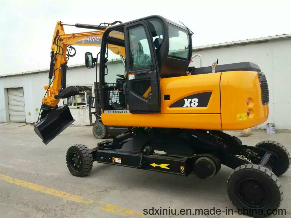 China Road Construction Equipment Excavator Factory, Xiniu / Rhinoceros Excavator, Construction Machine Excavator
