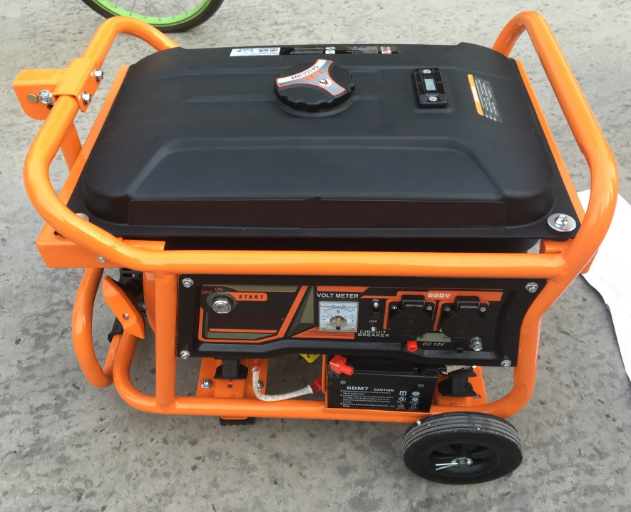 2kw Portable Gasoline Generator Set for Home Standby with Ce/Saso/CIQ/ISO/Soncap