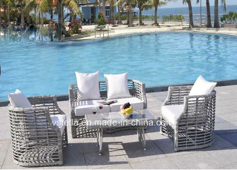 European Style Rattan Garden Furniture