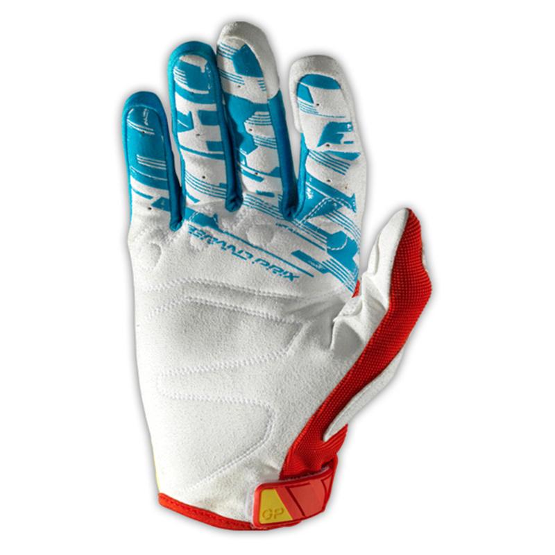 Blue&Yellow Dirt Bike Motocross Gloves for Rider (MAG20)