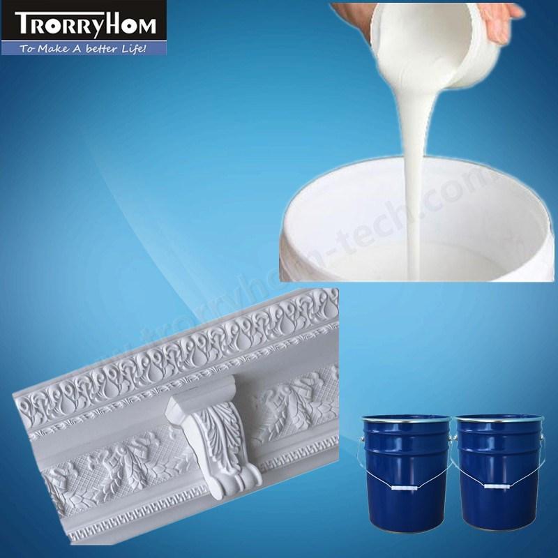 RTV Silicone Rubber Liquid Raw Material for Interior Plaster Decoration