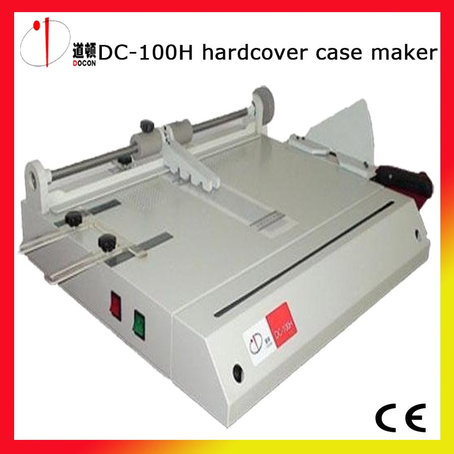 DC-100h A4 Hard Book Cover Case Maker Machine