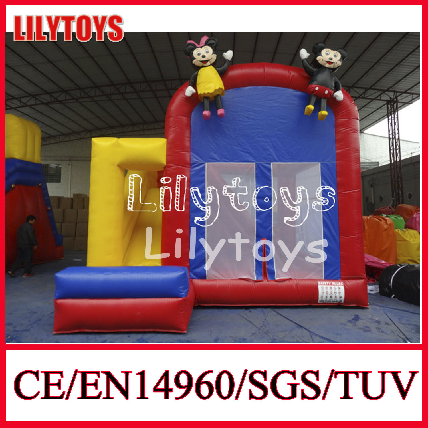 Hot Selling Inflatable Bouncer Air Blower for Sale (J-BC-034)