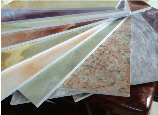 Decorative Plastic Wall Panels china moisture proof marble finish pvc/decorative/plastic wall