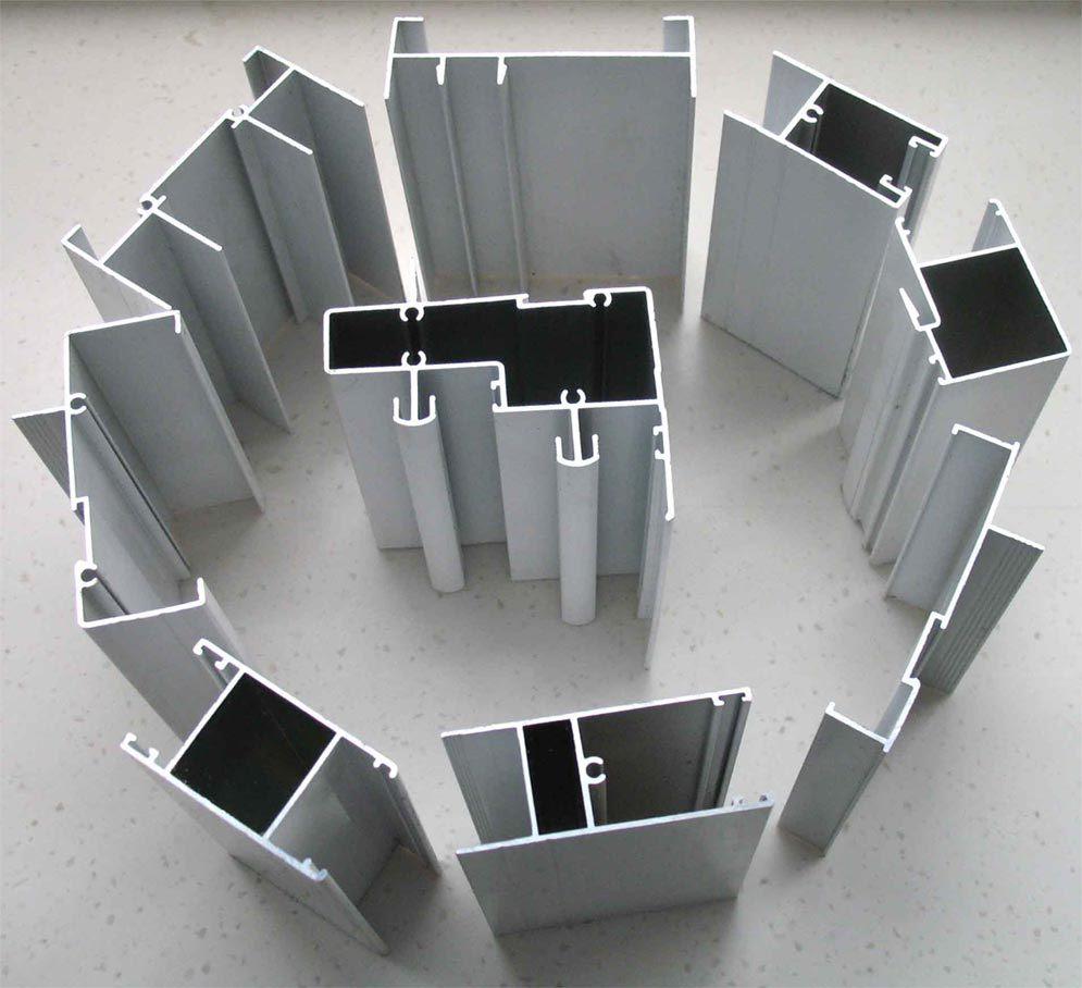 6005 Different Surface Treatment Aluminium Profiles (HF016)