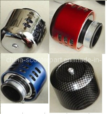 Chrome Air Filter for Motorcycle